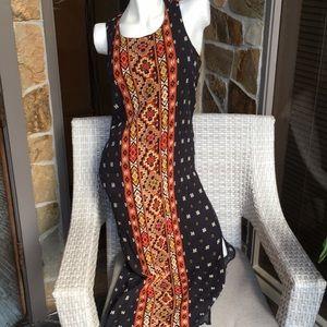 Casual maxi short sleeve dress, size medium